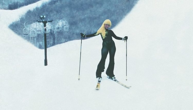 Composite photo of Danceha ll Queen Carlene in Park City, Utah, 1995. Photographer unknown. Carlene Smith Archive